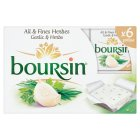 Picture of Boursin Garlic & Herb Cheese Portions 96g