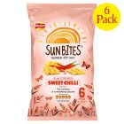Picture of Walkers Sunbites Sweet Chilli Snacks 6 x 25g