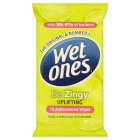 Picture of Wet Ones Cleansing Anti Bacterial Wipes 12 per pack