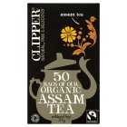 Picture of Clipper Fairtrade Organic Speciality Assam Tea Bags 50 per pack