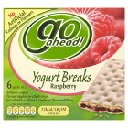 Picture of Go Ahead Yogurt Breaks Raspberry 6 x 36g