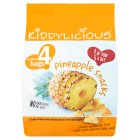 Picture of Kiddylicious Pineapple Snacks 4 x 12g