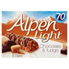 Picture of Alpen Light Bars Choc & Fudge 5 x 21g