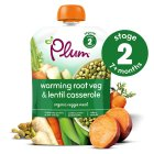 Picture of Plum Baby Organic Stage 2 Root Veg & Lentil Casserole Meal 130g