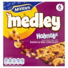 Picture of McVitie's Medley Hobnob Raisin & Chocolate Multipack 6 x 30g