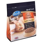 Picture of HiLife Completely Soft & Tender Semi Moist Cat Food Rich in Tasty Chicken 375g