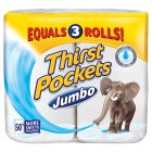 Picture of Thirst Pockets Kitchen Towels Jumbo Roll 2 per pack