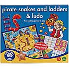 Picture of Orchard Toys Pirate Snakes & Ladders & Ludo