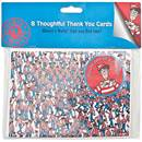 Picture of Where's Wally Thank You Cards 8 per pack