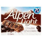 Picture of Alpen Light Bars Double Chocolate 5 x 19g