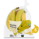 Picture of Fairtrade Bananas essential Waitrose 6 per pack