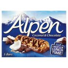 Picture of Alpen  Bars Coconut & Chocolate 5 x 29g