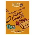 Picture of Ella's Kitchen Organic Carrots & Mangoes Nibbly Fingers 5 x 25g