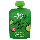 Picture of Ella's Kitchen Organic Smooth Apple Puree Stage 1 70g