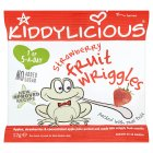 Picture of Kiddylicious Strawberry Fruit Wriggles 12g