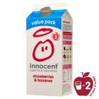 Picture of Innocent Strawberry & Banana Fruit Smoothie 1.25L