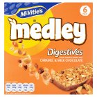 Picture of McVitie's Caramel & Chocolate Medley 6 x 30g