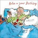 Picture of Quentin Blake Breakfast in Bed Birthday Card