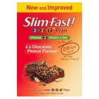 Picture of Slim-Fast Chocolate Peanut Meal Replacement Bar 4 x 60g 4 x 60g