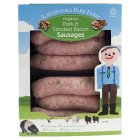 Picture of Laverstoke Park Organic Pork & Smoked Bacon Sausages 400g