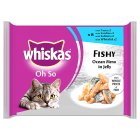 Picture of Whiskas Pouch Oh So Fishy Ocean Menus in Jelly 8 x 85g