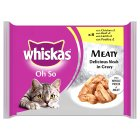 Picture of Whiskas Pouch Oh So Meaty Delicious Meals Gravy 8 x 85g