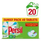 Picture of Persil Bio Laundry Tablets 20 Washes 40 per pack