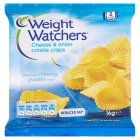 Picture of Weight Watchers Cheese And Onion Flavour Crinkle Crisps 16g