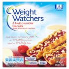 Picture of Weight Watchers 6 Fruit Crumble Biscuits Apple Blueberry & Raspberry 135g