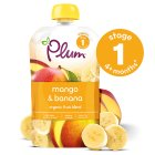Picture of Plum Baby Organic Mango & Banana Puree 100g