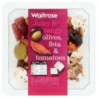 Picture of Olive, Onion & Feta Lemon Salad Waitrose 165g