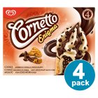Picture of Cornetto Enigma Cookie Cones 4 x 90ml