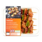 Picture of Chicken & Chorizo Kebabs Waitrose 314g