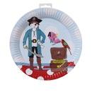 Picture of Pirate Plate 8 per pack