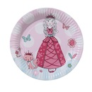 Picture of Princess Plate 8 per pack