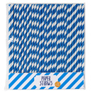 Picture of Blue Paper Straws 30 per pack