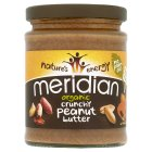 Picture of Meridian Organic Peanut Butter Crunchy No Salt 280g