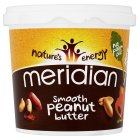 Picture of Meridian Natural Peanut Butter Smooth No Salt 1kg