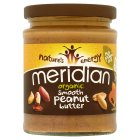 Picture of Meridian Organic Peanut Butter Smooth No Salt 280g