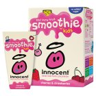 Picture of Innocent Kids Cherry & Strawberry Smoothies 4 x 180ml