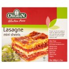 Picture of Orgran Rice & Corn Pasta Mini Lasagne Sheets 200g
