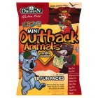 Picture of Orgran Mini Outback Animals Vanilla Cookies Multi Pack 175g