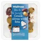Picture of Greek Olives with Feta Waitrose 185g