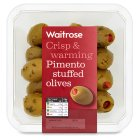 Picture of Pimento Stuffed Olives Waitrose 190g