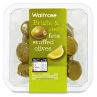 Picture of Feta Stuffed Olives Waitrose 160g