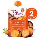 Picture of Plum Baby Organic Stage 2 Sweet Potato & Lamb Hot Pot 130g