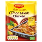 Picture of Maggi Fresh Idea for Roasted Lemon & Herb Chicken 33g