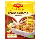 Picture of Maggi Fresh Idea for Cheesy Chicken & Bacon Pasta Bake 47g