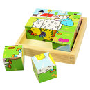 Picture of Bigjigs Toys Animal Cube Puzzle
