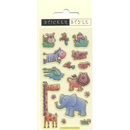 Picture of Jungle Animals Sticker Pack